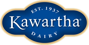 """Logo - """"Est 1937 Kawartha Dairy"""""""