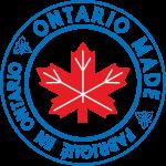 Ontario Made   Fabriqué en Ontario (logo)
