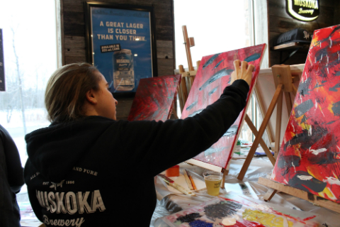 events - paint