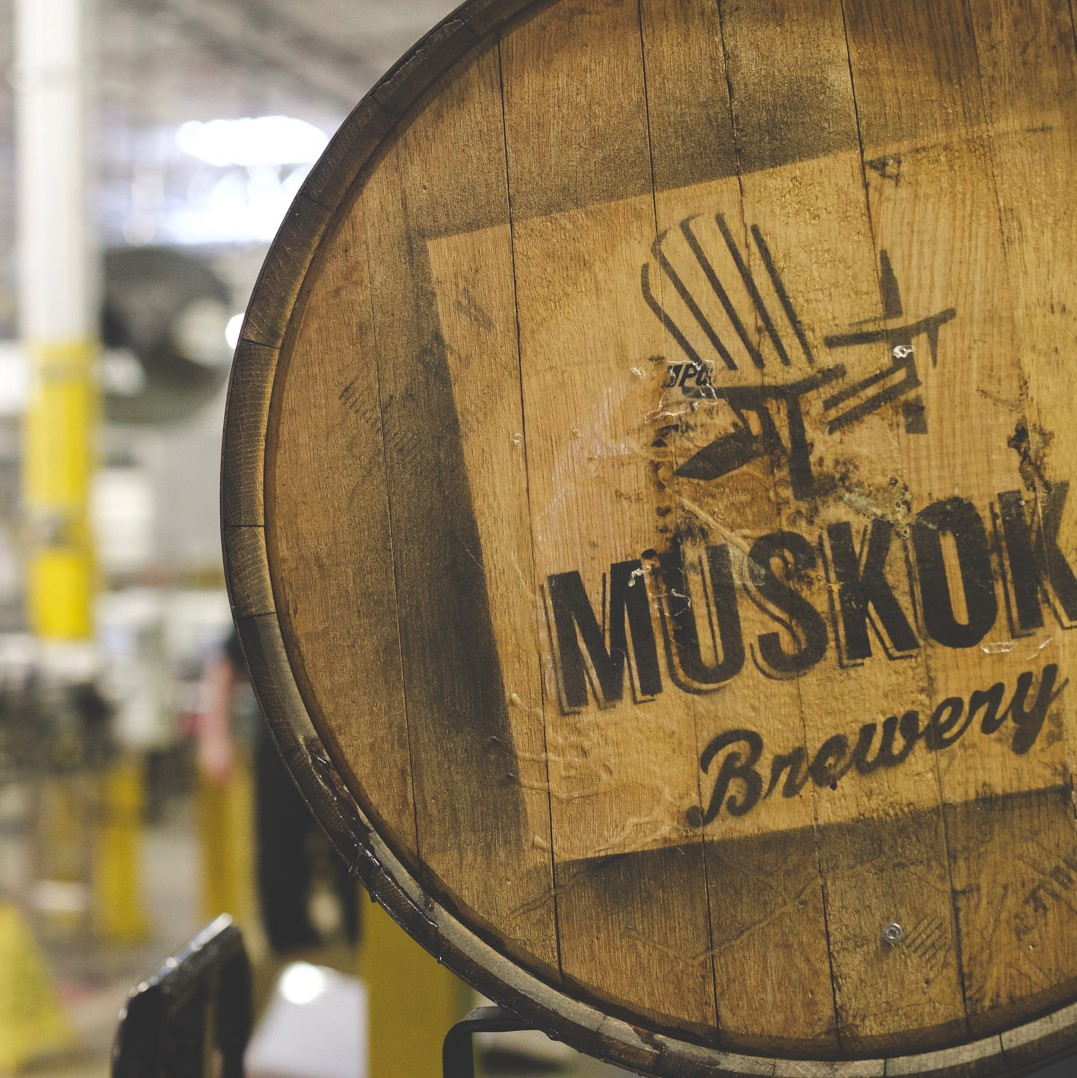 Muskoka Beer Barrel