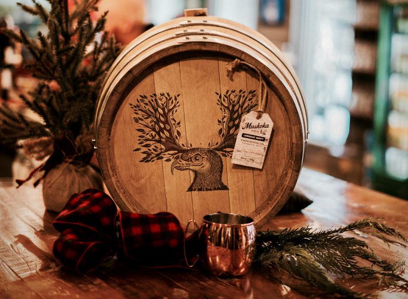 media - oak barrel