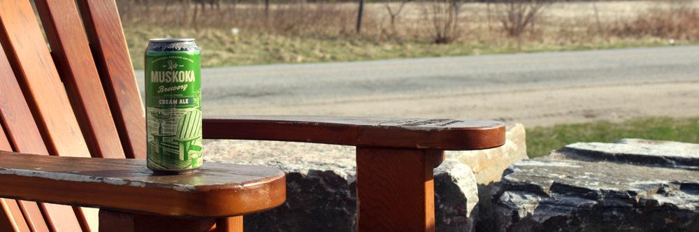 Muskoka Chair and Cream Ale