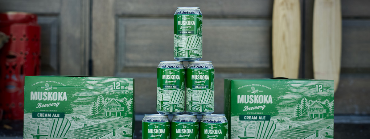 Cream Ale Stacks