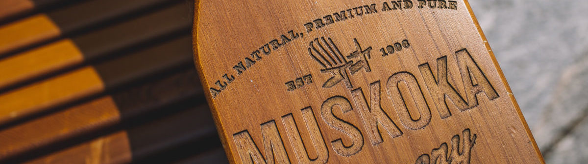 Muskoka Chair Armrest