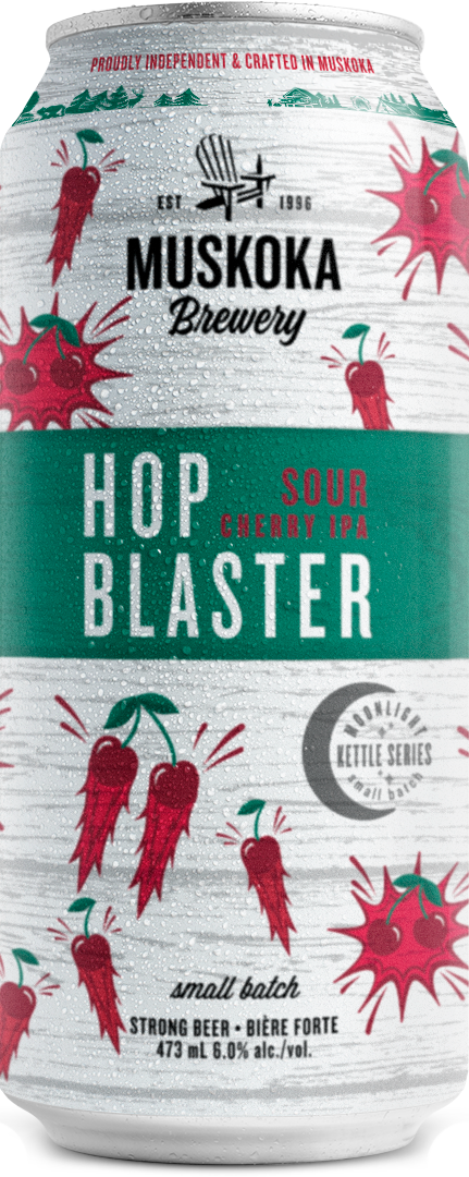 hop blaster tall can