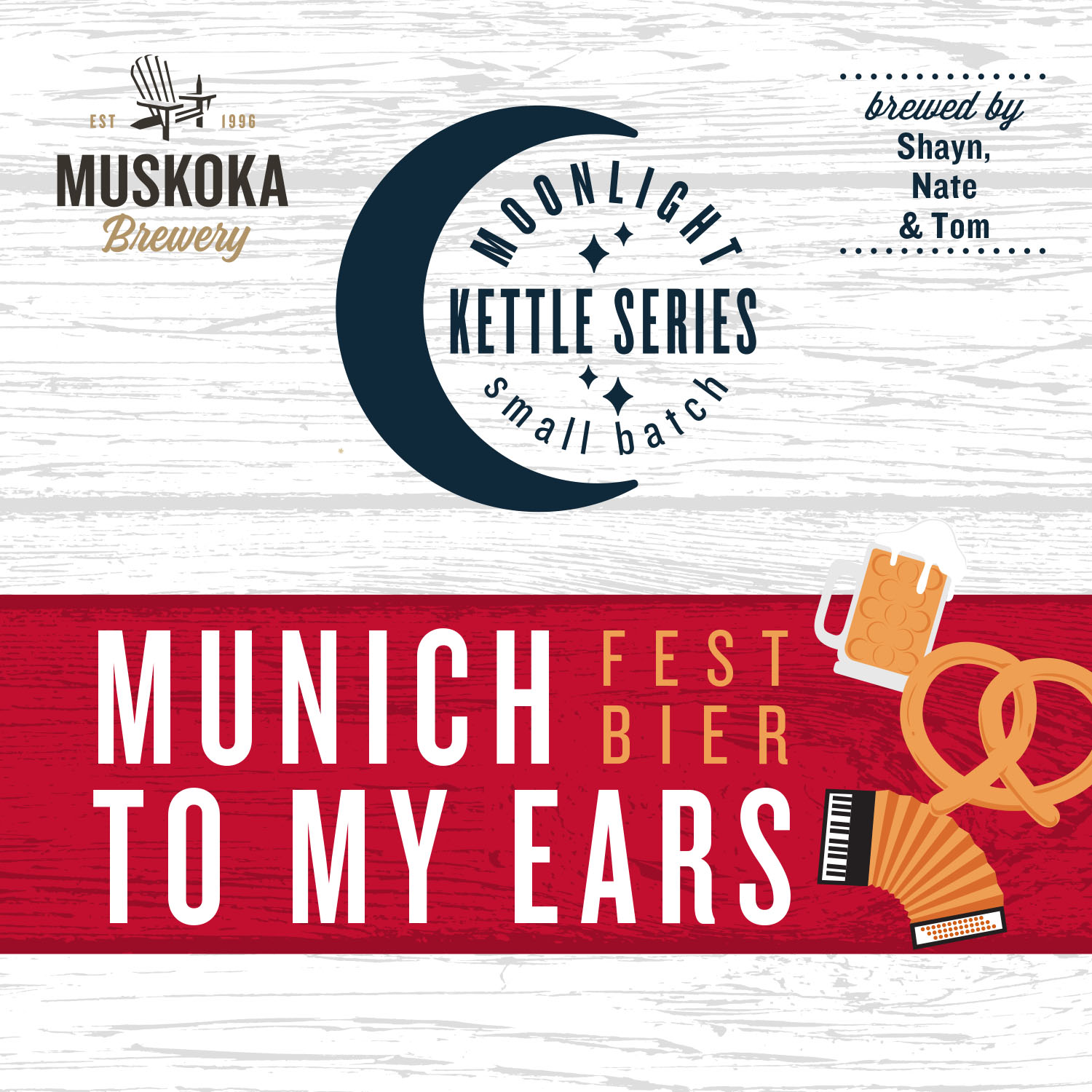 Moonlight Kettle Series: Munich to My Ears Festbier by Shayn, Tom and Nate