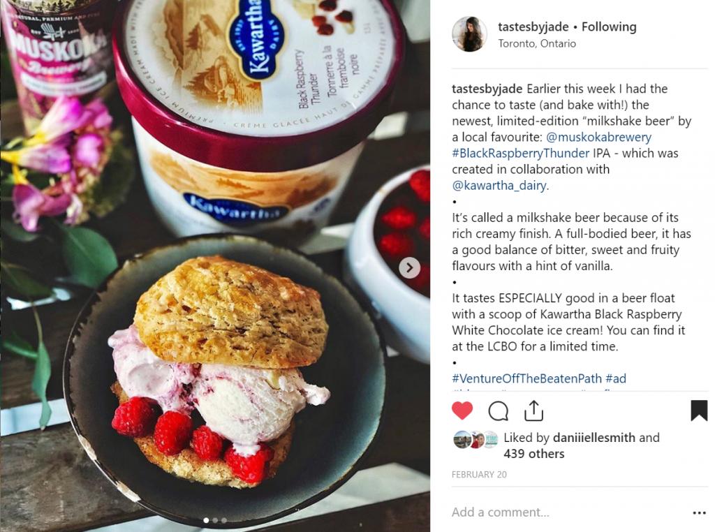 2019-03-BRT Scone and ice cream by Sarah Jade