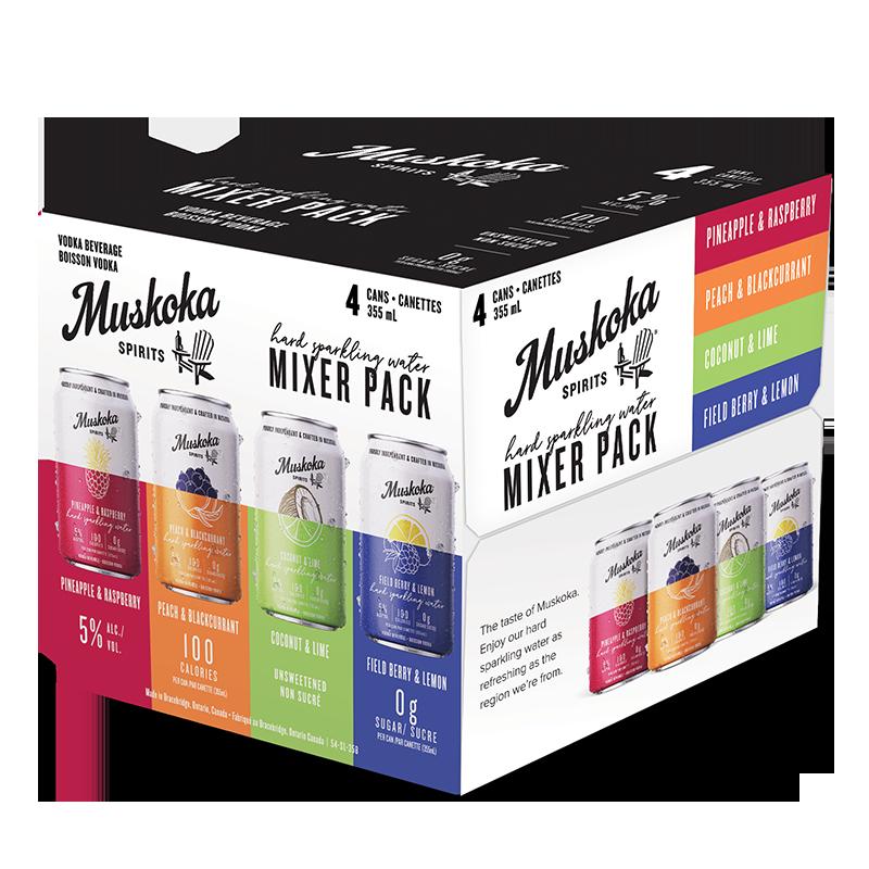 Hard Sparkling Water Mixer Pack