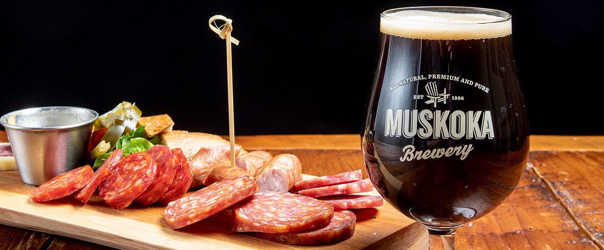 Charceuterie Board and Breughel of Stout