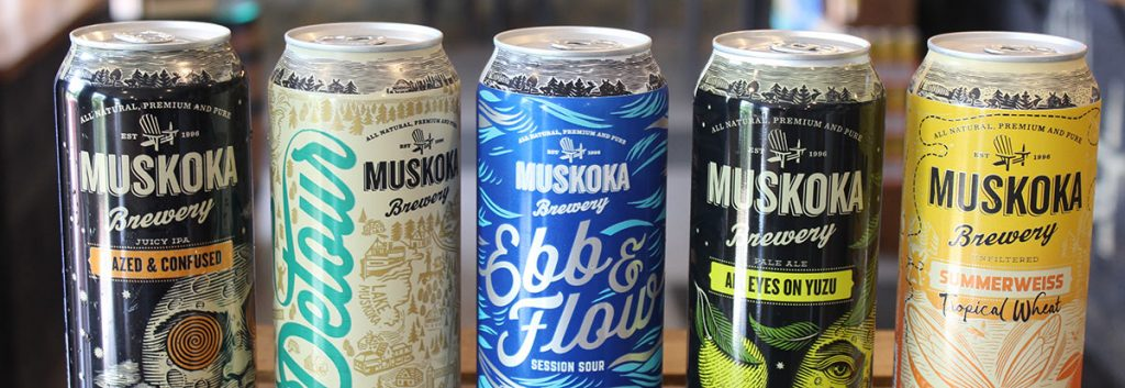 Beer lineup: Hazed & Confused, Detour ISA, Ebb & Flow Session Sour, All Eyes on Yuzu APA and Summerweiss Tropical Wheat