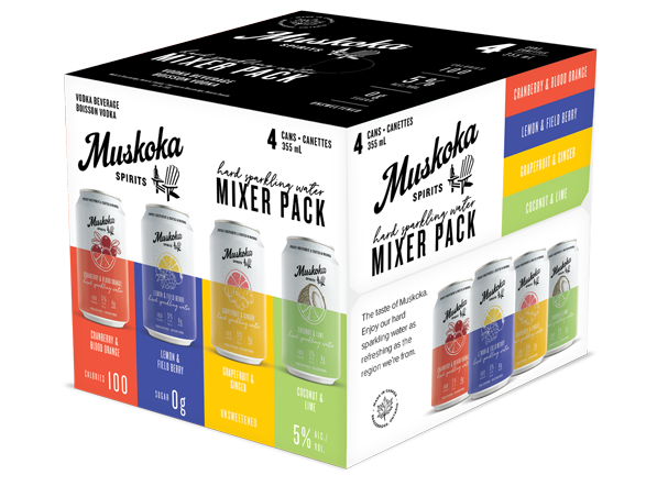 Hard Sparkling Water Mixer Pack
