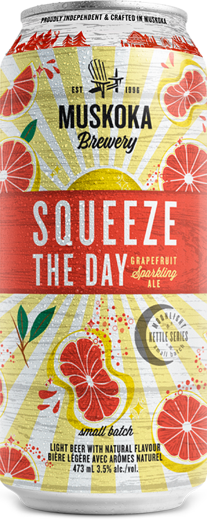 Squeeze the Day beer can