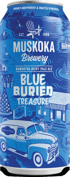 Blue Buried Treasure