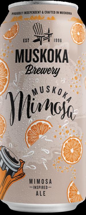 Muskoka Mimosa tall can rendering